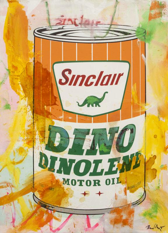 Oil on Canvas - Sinclair I_2017_Mischtechnik auf Leinwand_55x76cm